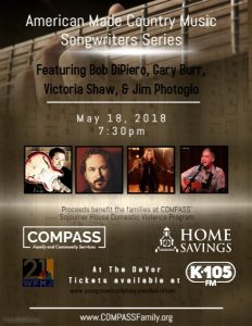 American Made County Music Songwriters Series @ Deyor Performing Arts Center   Youngstown   Ohio   United States