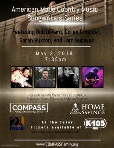 American Made County Music Songwriters Series @ Ford Recital Hall at DeYor Performing Arts Center   Youngstown   Ohio   United States